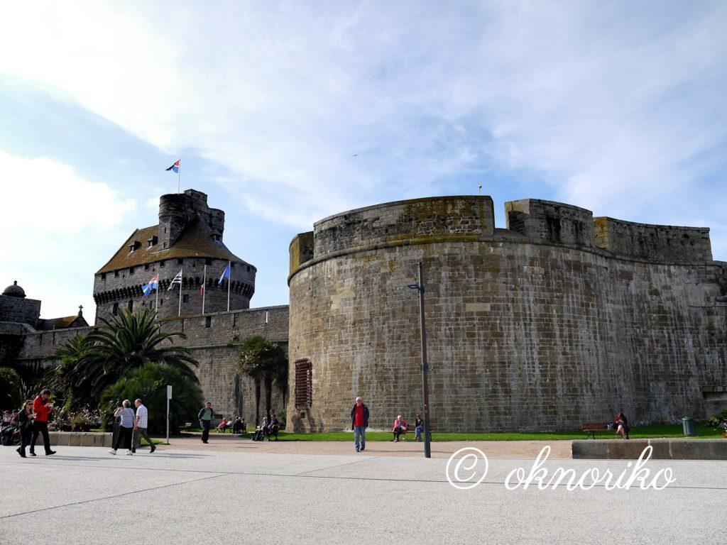 サンマロ城壁