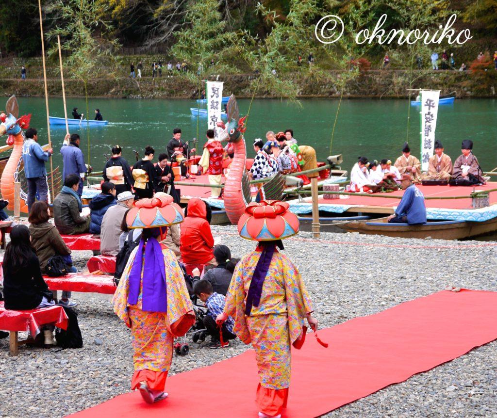 嵐山紅葉の宴